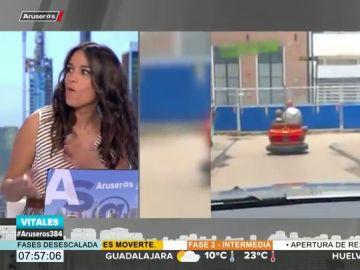 Patricia Benítez se arranca a cantar por Camela