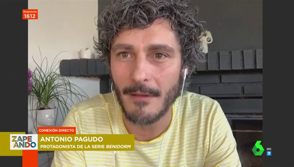 """Antonio Pagudo se confiesa en Zapeando: """"Me busco en Google para ver si se habla de mí"""""""