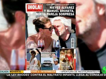 Nieves Álvarez vuelve a encontrar el amor: este es Manuel Broseta, la nueva pareja de la modelo