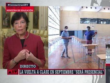 Isabel Celaá en ARV