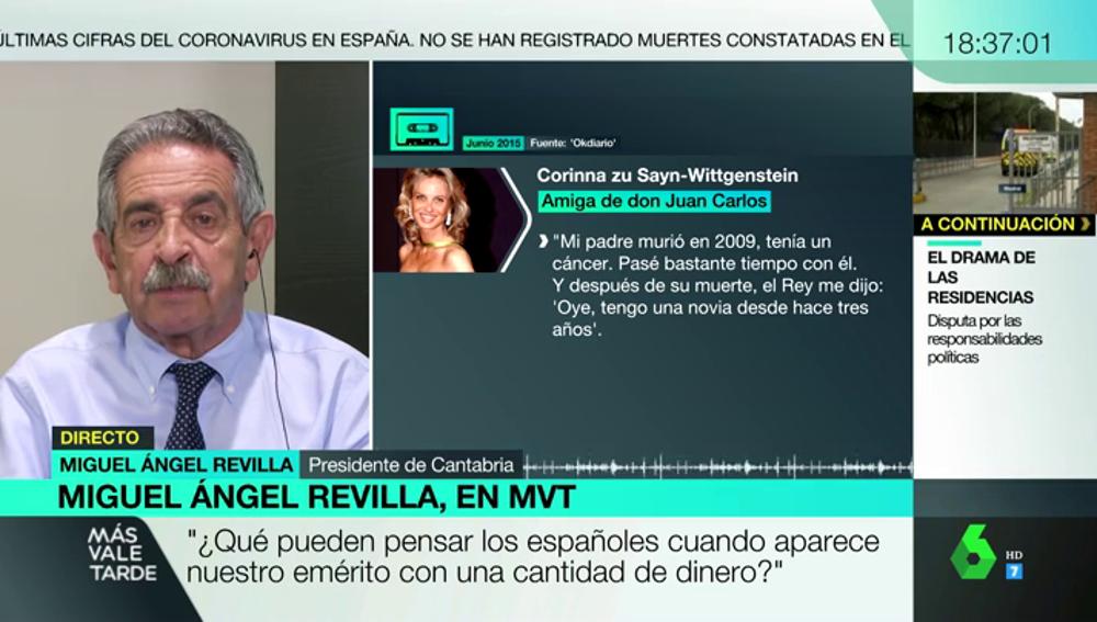 """Revilla: """"¿Qué pensarán los españoles cuando el rey emérito aparece con dinero por ahí y todavía los políticos dudan en investigarlo?"""""""