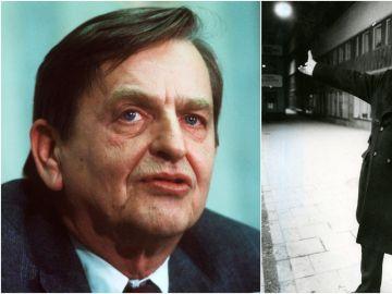 Olof Palme (izquierda) y su presunto asesino
