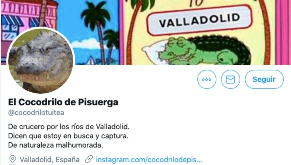 Twitter de El Cocodrilo de Pisuerga