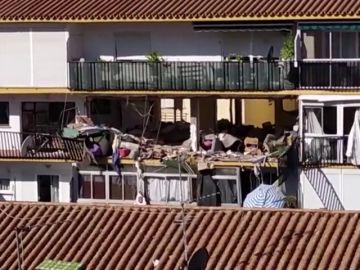 REEMPLAZO | Una mujer muerta y un herido en una explosión en un edificio de Torre del Mar, Málaga