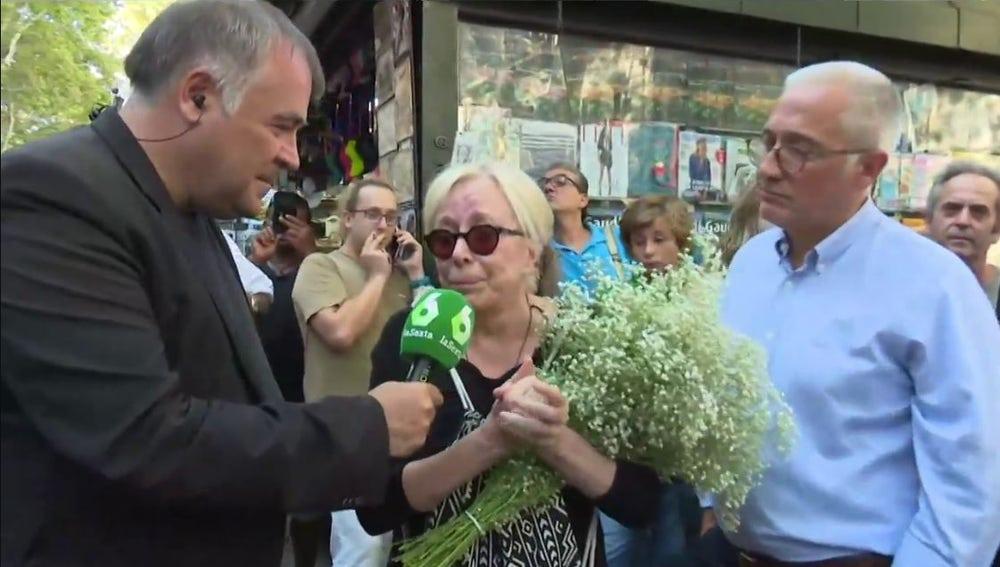 Antonio García Ferreras entrevista a Rosa María Sardà tras los atentados de Barcelona