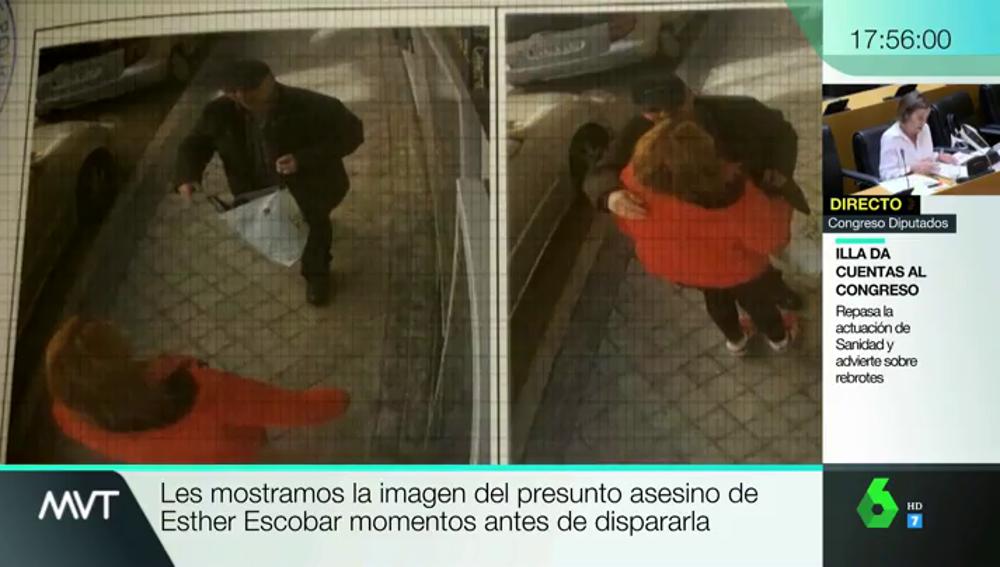 Las últimas horas de Esther: el abrazo con su asesino en la calle minutos antes de morir por un disparo
