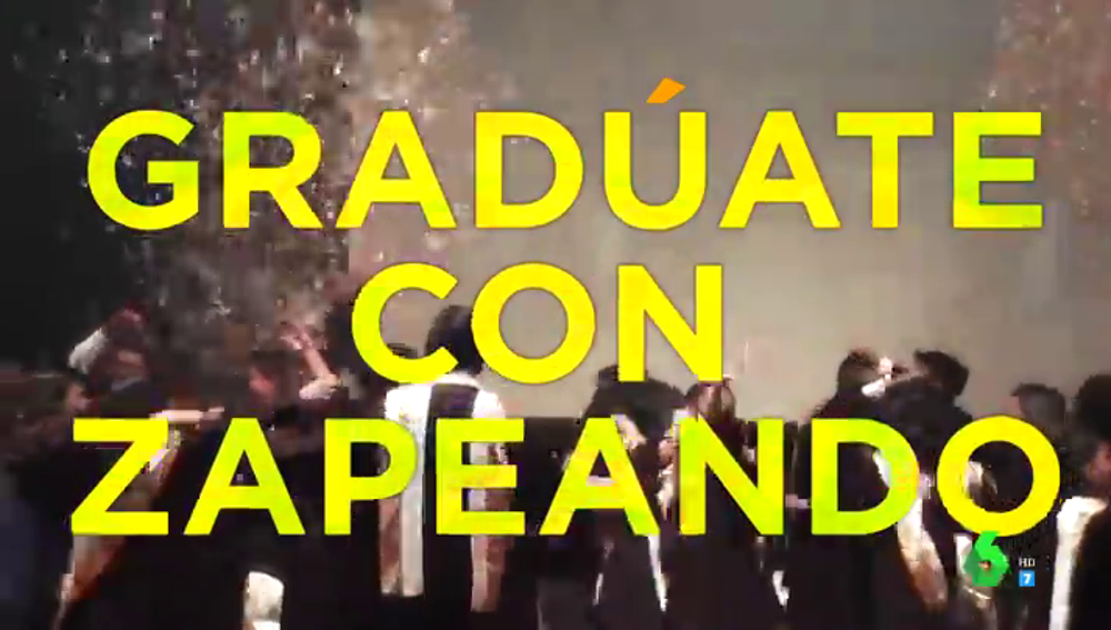 ¿Te has quedado sin fiesta de graduación?: manda tu vídeo y gradúate con Zapeando