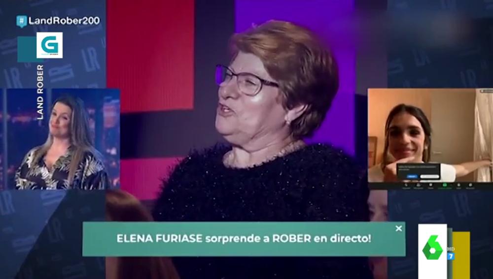 """El día que Elena Furiase llamó """"vieja"""" a una mujer del público de un programa: """"Pobre señora"""""""