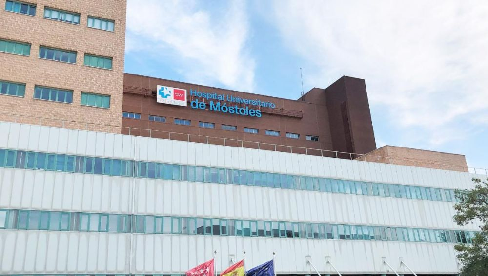 Fachada del Hospital Universitario de Móstoles
