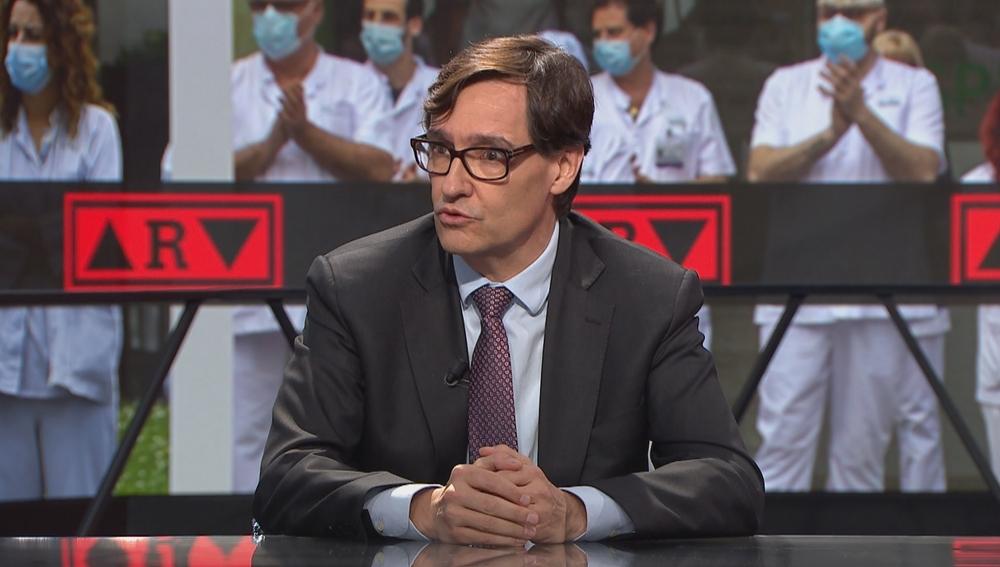 Entrevista al ministro de Sanidad, Salvador Illa, en ARV