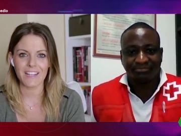 Félix Sesay, refugiado de Sierra Leona