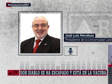 """El presidente de la Universidad Católica de Murcia apunta que la vacuna del coronavirus vendrá """"con un chip"""" para controlarnos"""