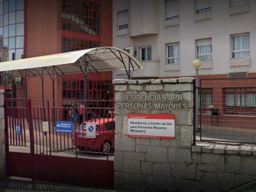 Fachada de la residencia Mirasierra, gestionada por DomusVi, en Madrid