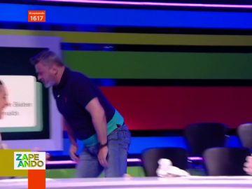 Miki Nadal abandona el plató de Zapeando en pleno directo tras la sorprendente crítica de un fan