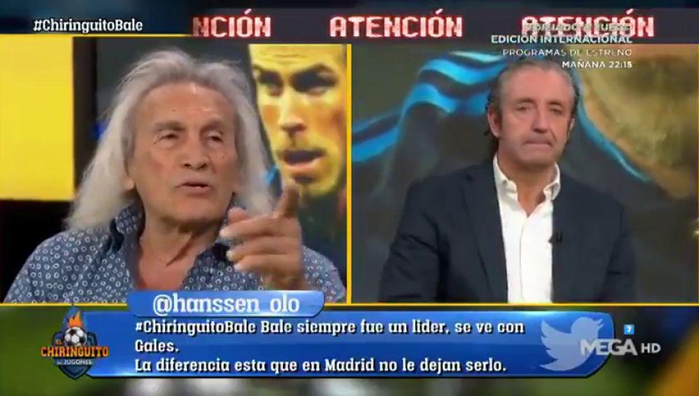 """Josep Pedrerol, durísimo con Gareth Bale: """"La gente sabe quién es bueno y quién no"""""""
