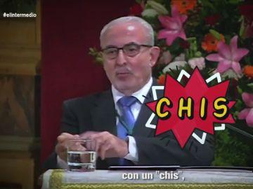 """""""Quieren controlarnos con un 'chis'"""": el temazo del rector de la universidad de Murcia sobre """"las fuerzas del mal"""" del coronavirus"""