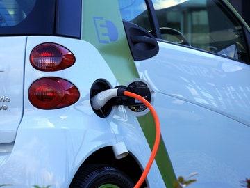 Imagen de archivo de un coche eléctrico