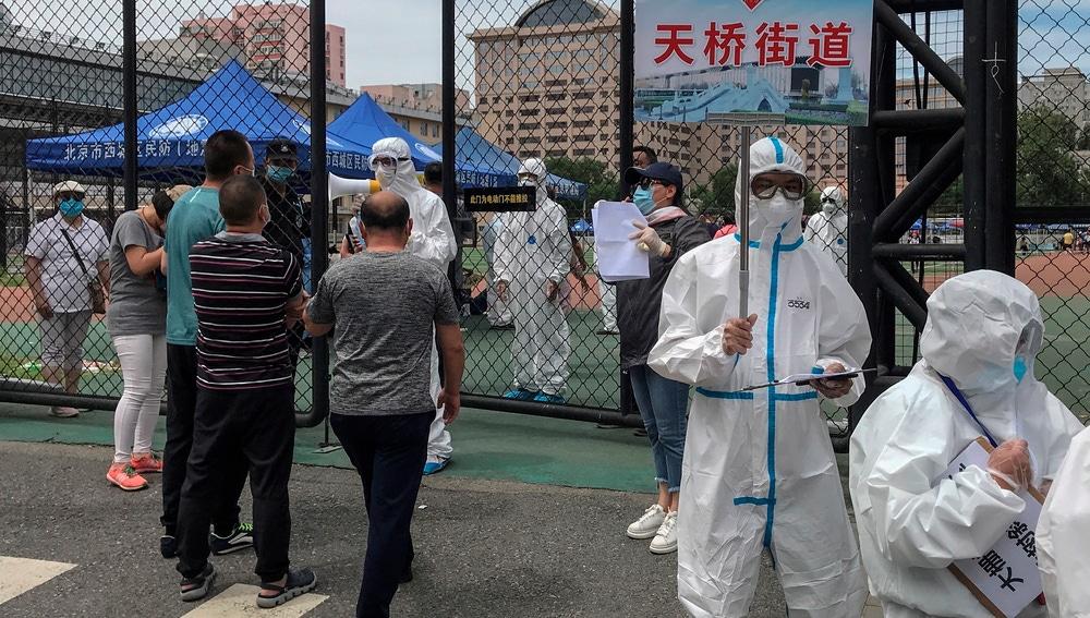 El rebrote de coronavirus de Pekín se habría activado hace un mes