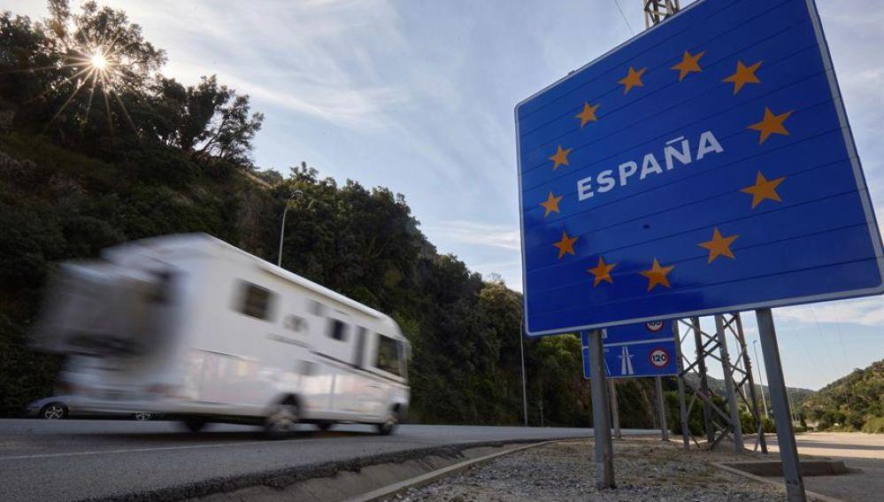 Entrada a España desde Francia