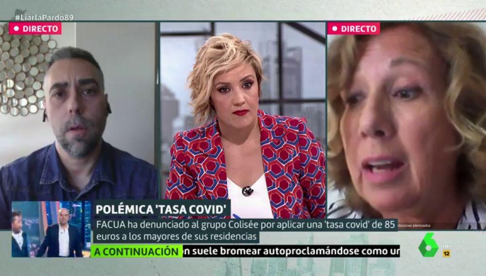 """Susana: """"¿Si no lo pago el recargo voluntario en la residencia el trato a mi madre va a ser peor?"""""""