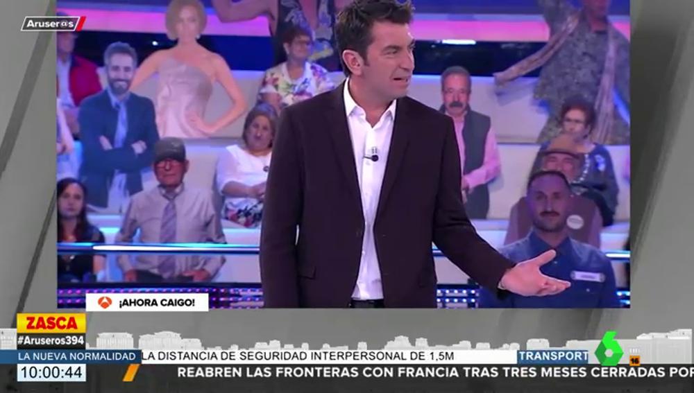 La reacción de Arturo Valls al error garrafal de una concursante al no saber quién es Inés Arrimadas