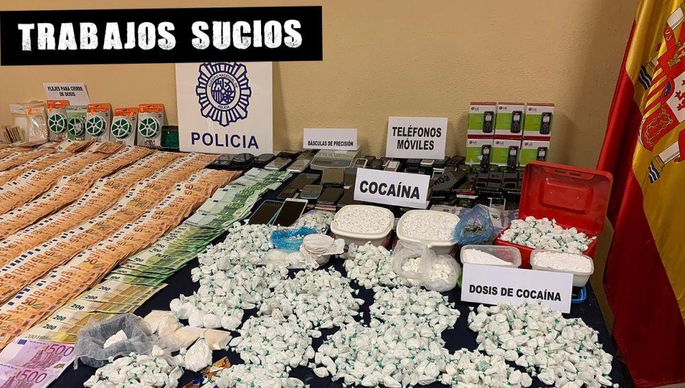 "La Policía Nacional desmantela un ""telecoca"" que contaba con un call center para atender a sus más de 2.000 clientes"