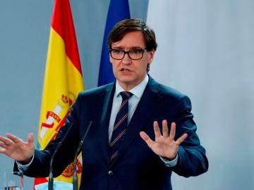 El ministro de Sanidad, Salvador Illa. Confinamiento de Madrid