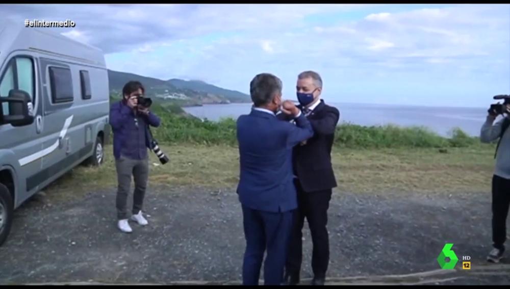 ¿Utiliza Urkullu a Revilla para ganar las elecciones de País Vasco?: las imágenes que lo demostrarían