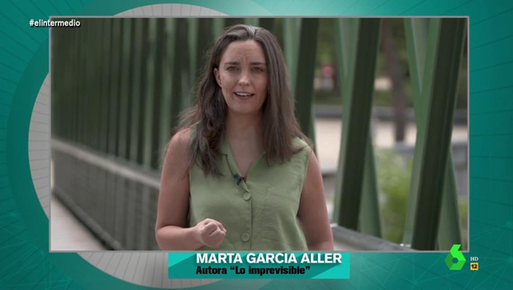 La periodista Marta García Aller en El Intermedio