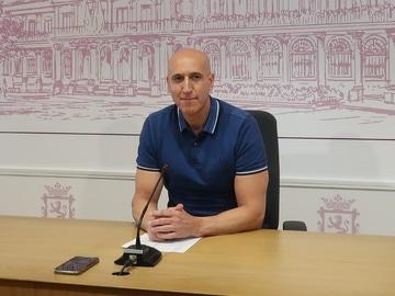 José Antonio Díez, alcalde de León
