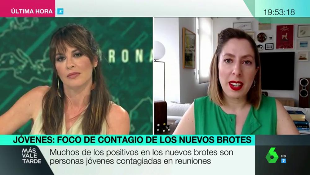 Deborah García Bello en MVT