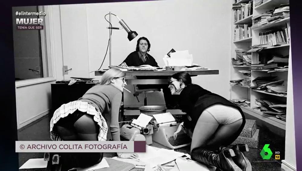 Una de las fotografías tomadas por Colita