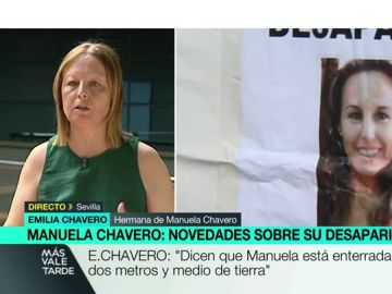 Emilia Chavero, hermana de Manuela