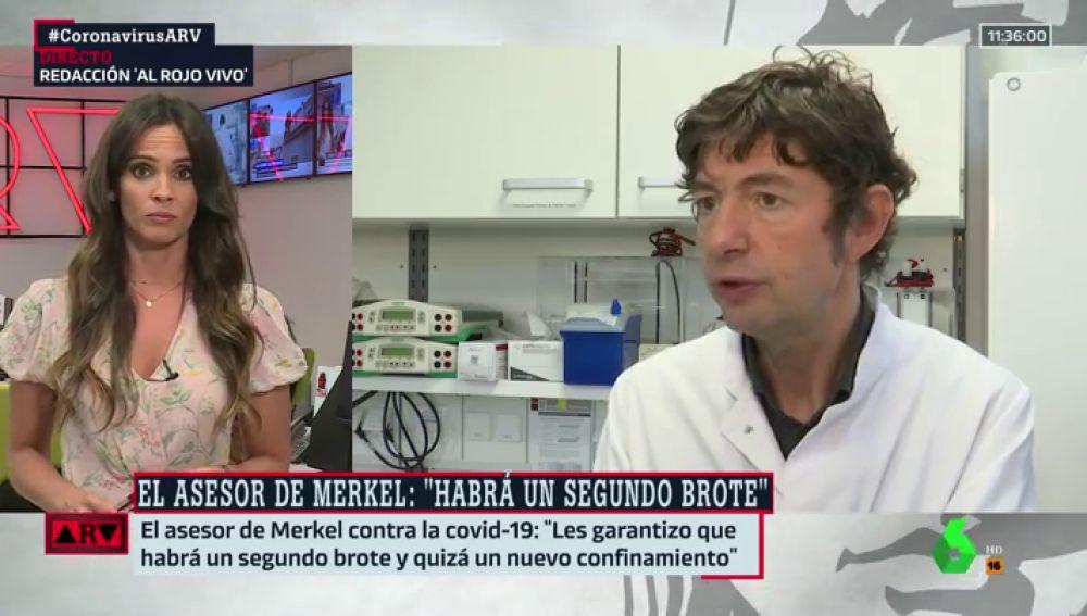 """El virólogo responsable de la contención del coronavirus en Alemania avisa: """""""