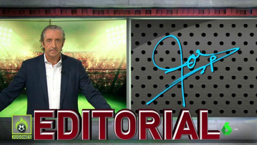 """Josep Pedrerol: """"¿Dónde están los de la campañita del VAR tras la plancha de Messi? Os lo digo yo, tapaditos"""""""