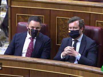 Vídeo manipulado - Se filtra la conversación entre Abascal y Espinosa de los Monteros en el Congreso