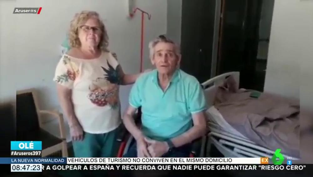 Recibe el alta Vicente Manuel Ballester, el paciente que más tiempo ha estado ingresado por coronavirus