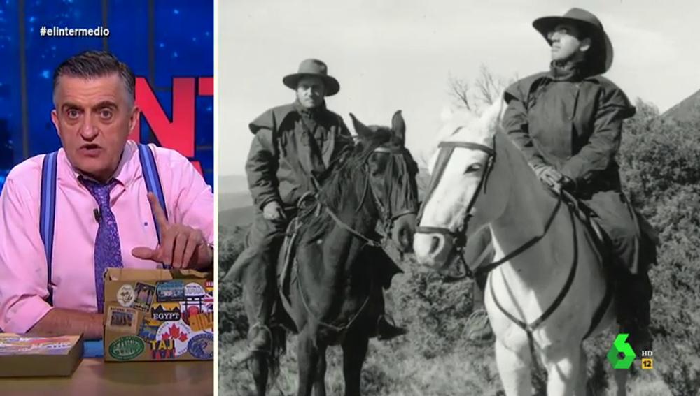 Wyoming desvela su lado 'cowboy': así fue su recorrido a caballo por España