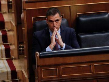 Pedro Sánchez en el Congreso