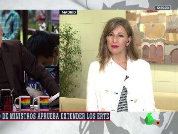 Yolanda Díaz en ARV