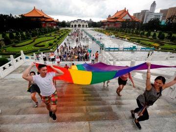 Celebración del Orgullo en Taiwán