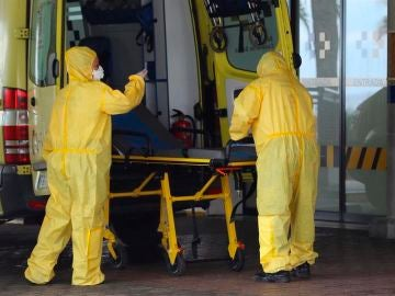 Personal sanitario durante la pandemia de coronavirus
