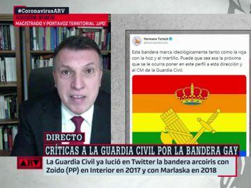 """Bosch, sobre la bandera LGTBI en las instituciones: """"Promover la no discriminación no es ideología, sino un deber"""""""