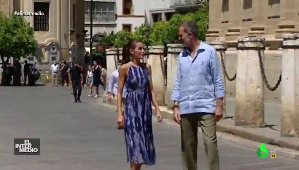 """Vídeo manipulado - """"¡Yo no aguanto más!"""": el grito de la reina Letizia al rey Felipe VI que no se vio en televisión"""
