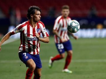 Joao Félix, en un partido con el Atlético de Madrid.