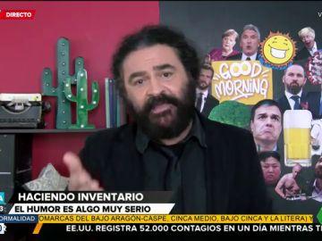 El emotivo alegato de El Sevilla a favor del humor en tiempos de coronavirus