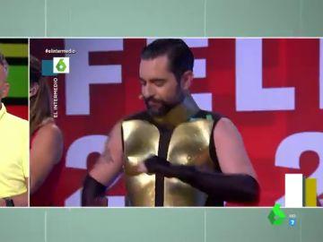 La reacción de los zapeadores al ver a Dani Mateo con el vestido de Pedroche en las campanadas