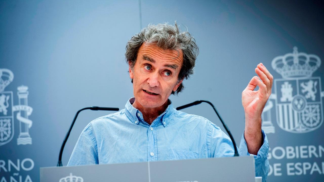 El director del Centro de Emergencias y Alertas Sanitarias, Fernando Simón