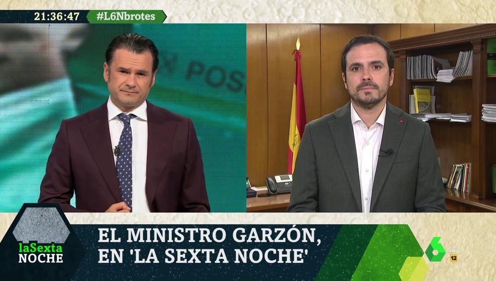 Alberto Garzón en laSexta