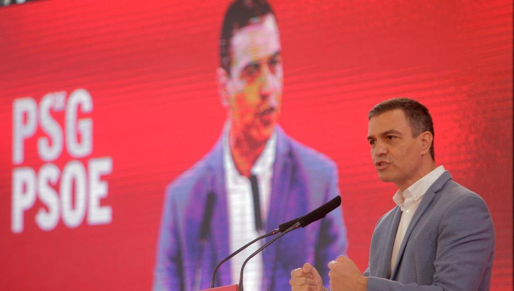 El secretario general del PSOE y presidente del Gobierno, Pedro Sánchez